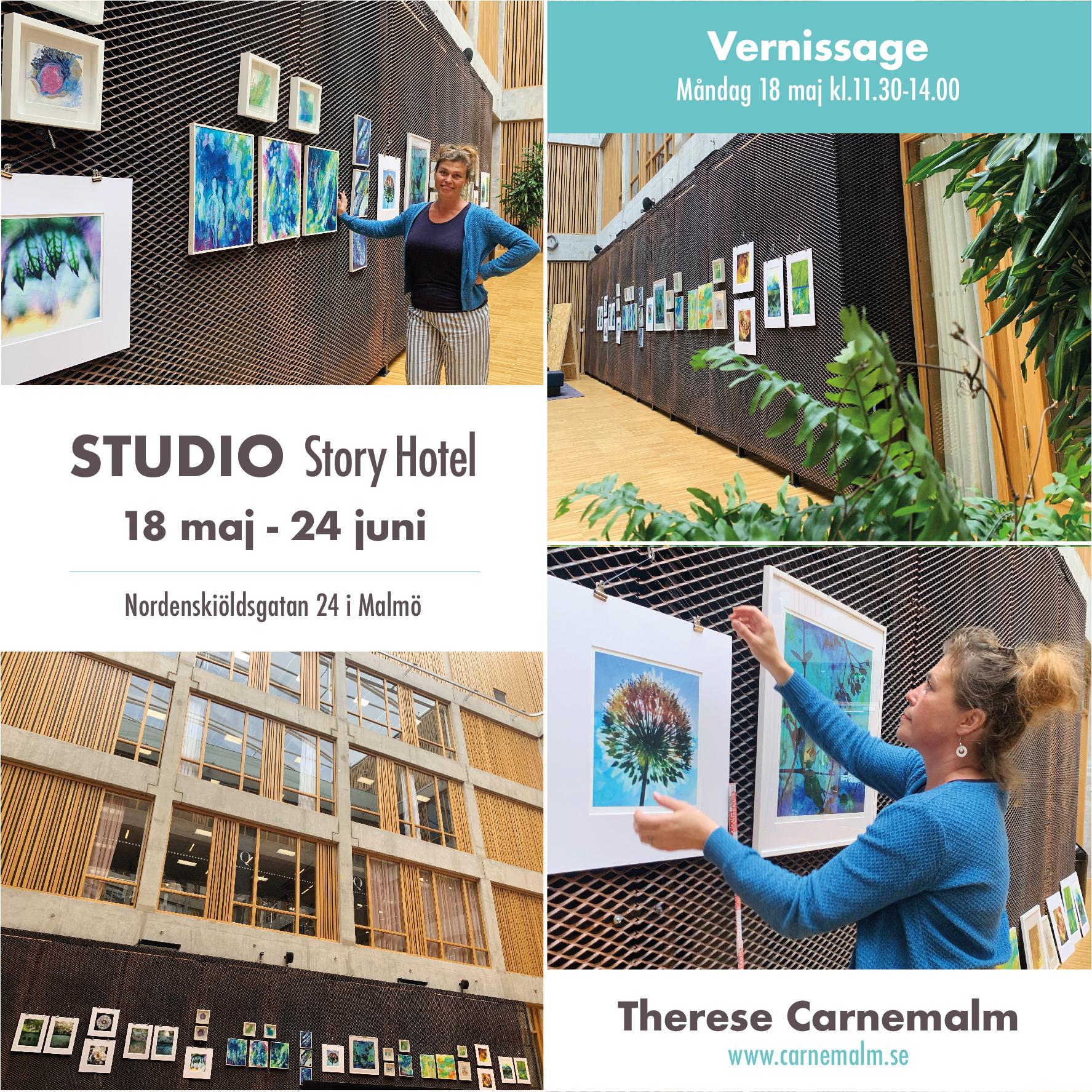 Välkommen till utställning på Studio i Malmö